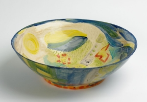 Yvette Lardinois, 'Vogelvlucht', keramiek