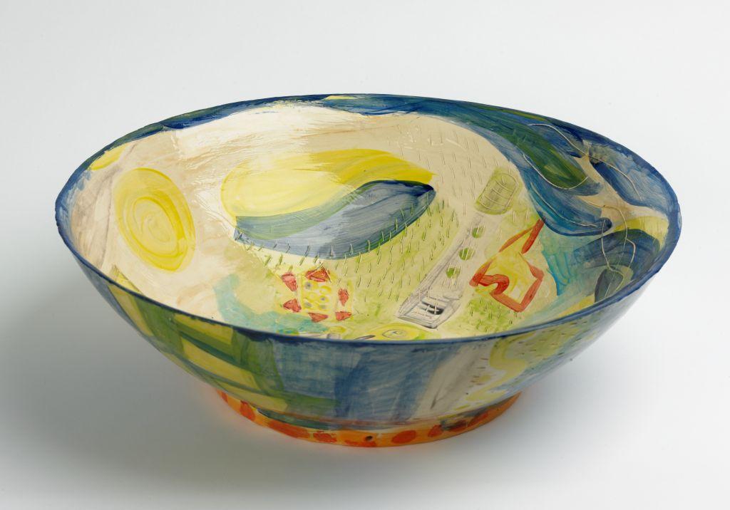'Vogelvlucht, Yvette Lardinois, ceramic