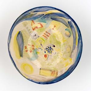 Yvette Lardinois, 'Vogelvlucht' keramiek