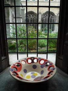 Kloostergangen, Abdij, Middelburg, Yvette Lardinois, keramiek