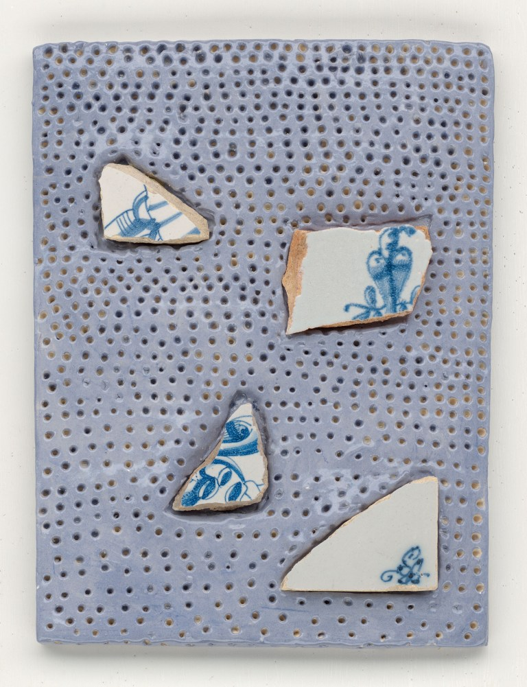 Tears Blue, ceramic, Yvette Lardinois