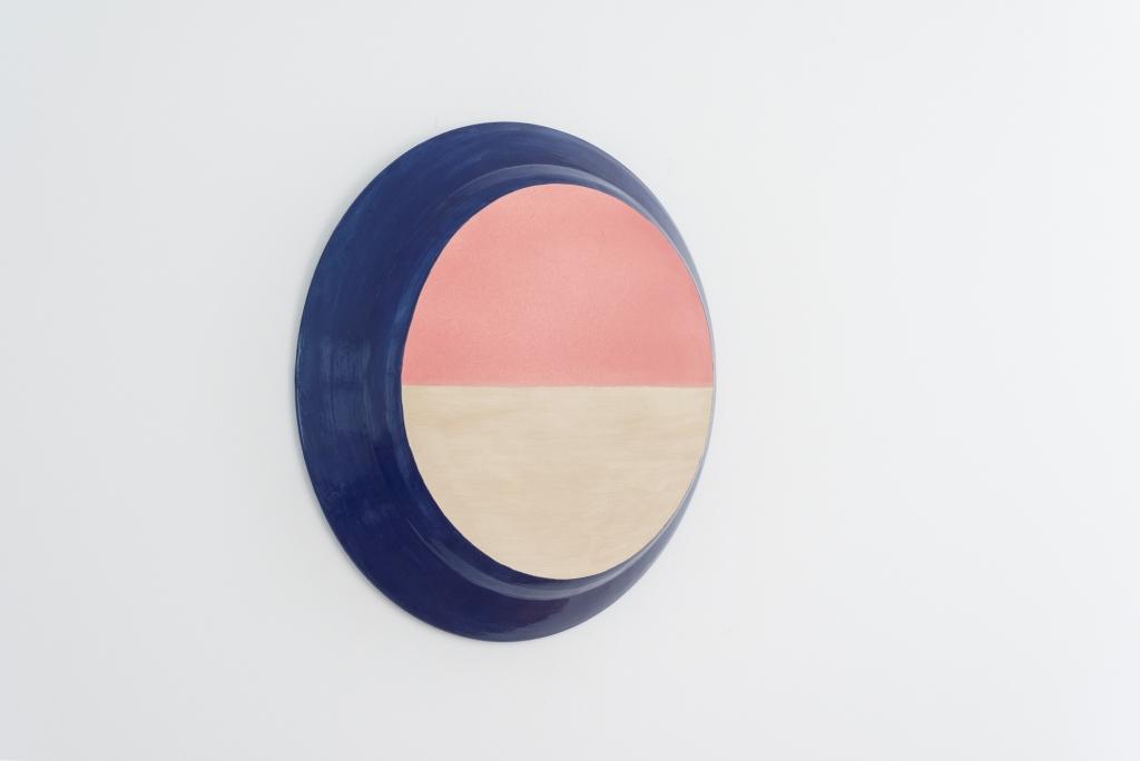 Yvette Lardinois, Horizon, ceramic, doorsnede 45 cm