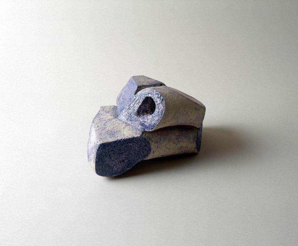object, handvorm, 1996, keramiek, Yvette Lardinois