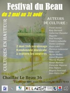 affiche Festival du Beau