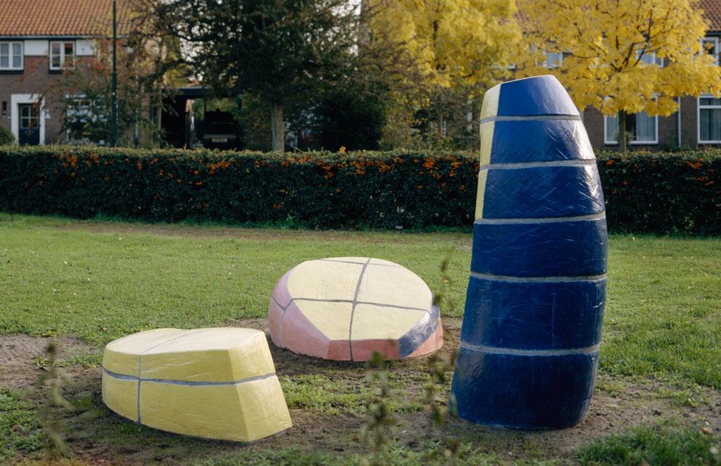 Zonder titel, kunstobject, Berglarenschool Gemert, 1995, Yvette Lardinois