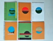 Japans schrift A5, Collage, Yvette Lardinois