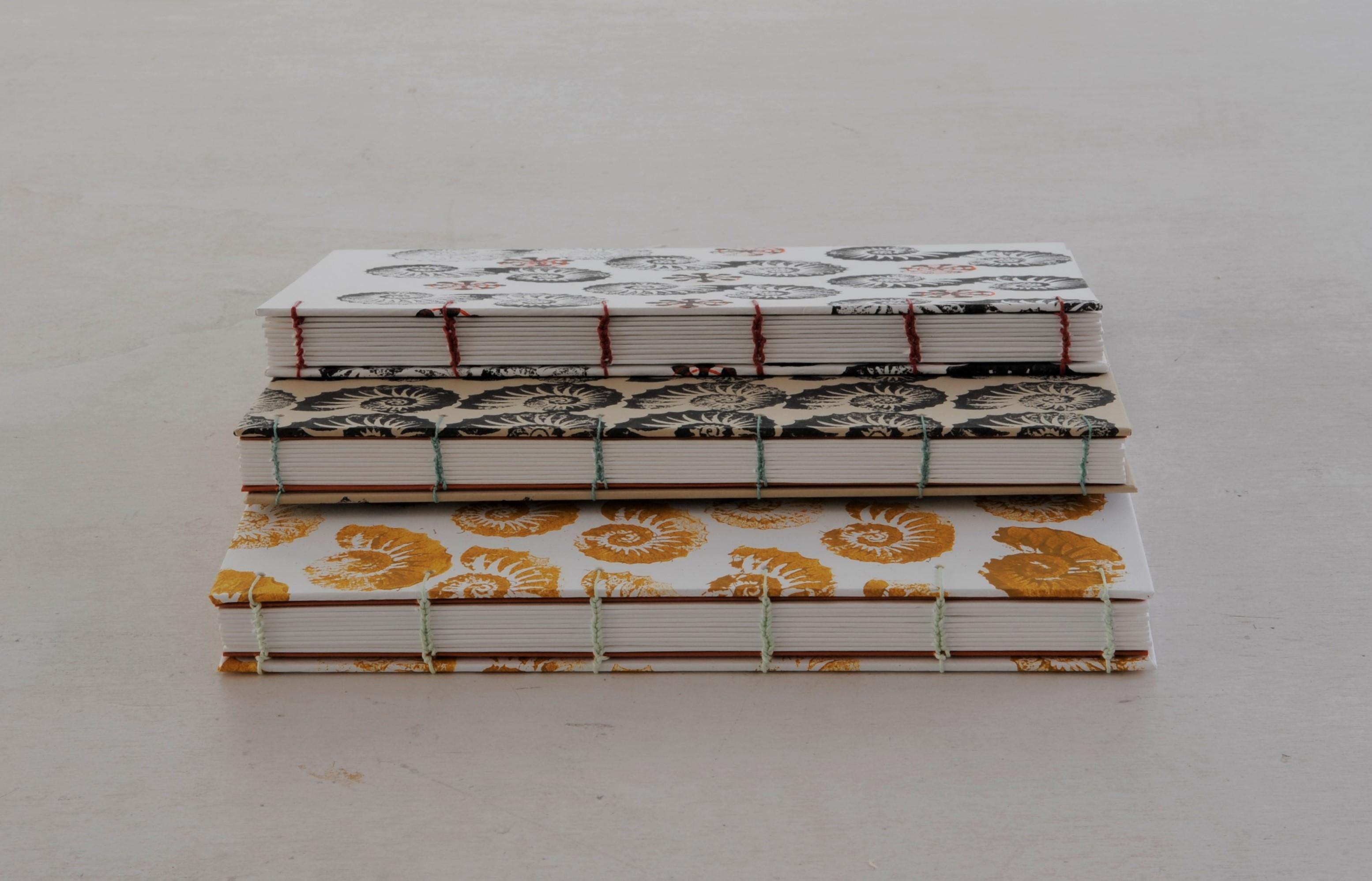 koptische binding met nautilus y.lardinois bookbinding